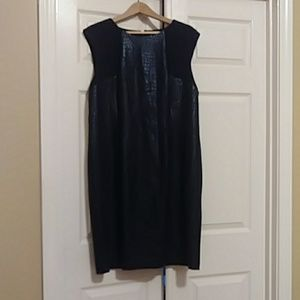 Chicos black day to evening dress size 3